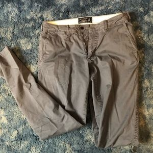 Abercrombie and Fitch khakis never worn